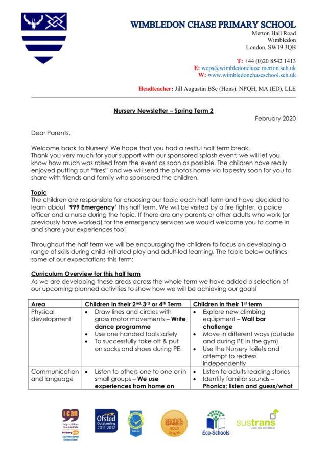 Nursery-Newsletter-Spring-Term-2-2020