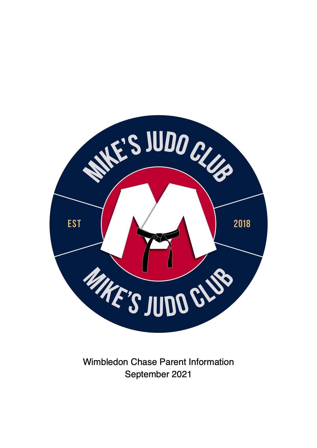 Judo Club Autumn Term 2021