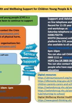 Emotional Health And Wellbeing Support For Children Young Holiday Inform...