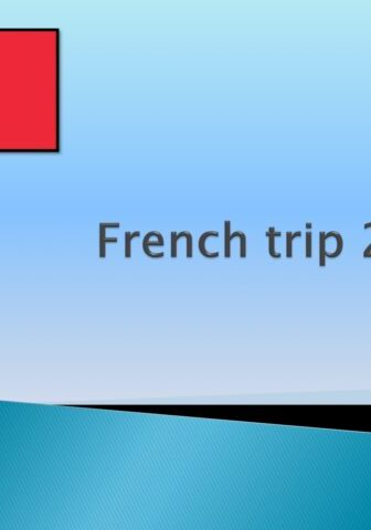 French Trip 2022 Parent Meeting