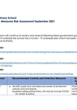 WCPSProtectiveMeasuresRiskAssessment September 211713